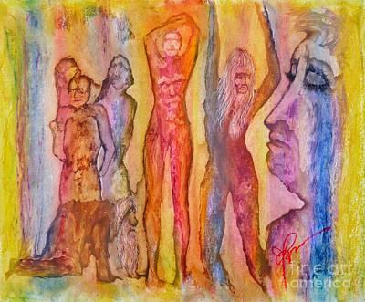 Tears For The Misfits Art Print by Linda May Jones