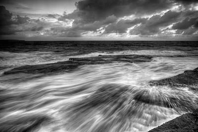 Maroubra Photograph - Teased By Nature by Mark Lucey