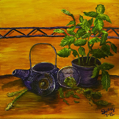 Painting - Teatime by Shelley Bain
