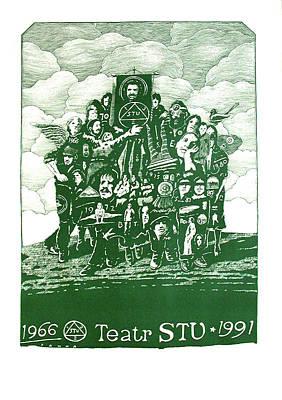 Mixed Media - Teatr Stu 1966-1991 by Jan Sawka