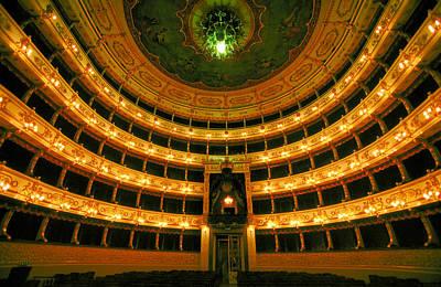 Photograph - Teatro De Parma by John Galbo