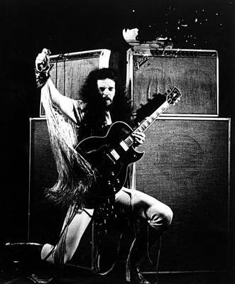 Nugent Photograph - Ted Nugent, Portrait Ca. 1979 by Everett