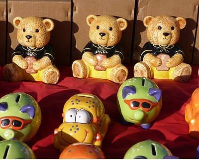 Photograph - Teddies by Ed Lukas