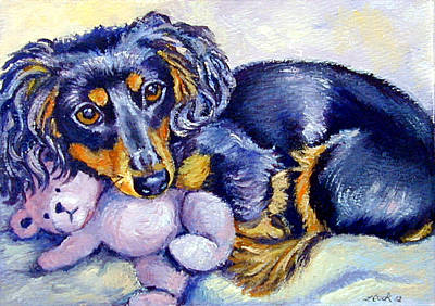 Teddy Cuddles - Dachshund Original