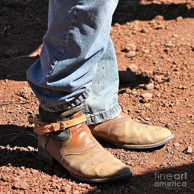 Photograph - Teen Boots In Color by Pamela Walrath