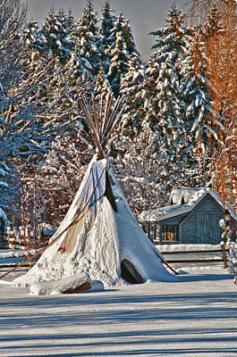 Photograph - Teepee 3739 by Guy Whiteley