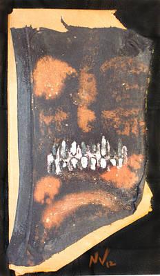 Creepy Mixed Media - Teeth by Nicholas Vermes