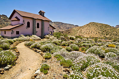 Photograph - Teide Church by Justin Albrecht