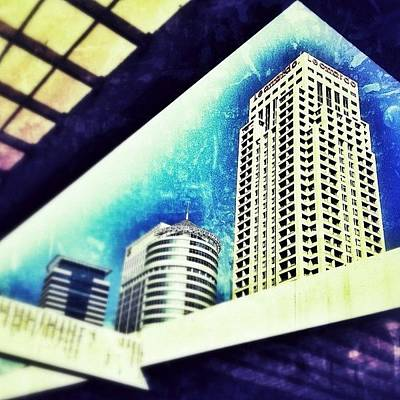 Abstract Skyline Wall Art - Photograph - Tel Aviv How High Can We Go ? #sky #tlv by Eyal Warshavsky