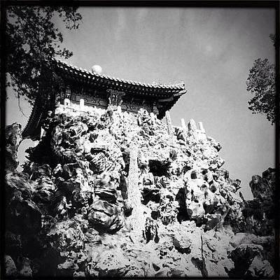 Dragon Photograph - Temple by Erik Jorgensen