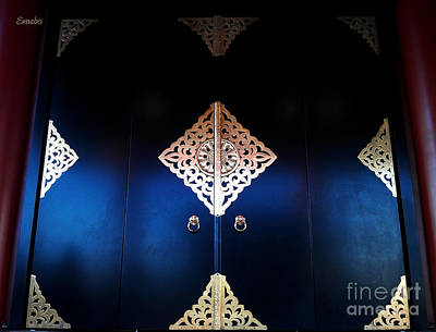 Photograph - Temple Gates by Eena Bo