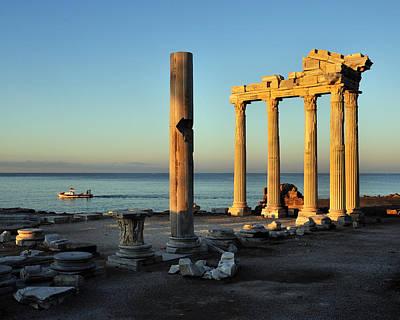 Y120817 Photograph - Temple Of Apollo by Saffron Blaze