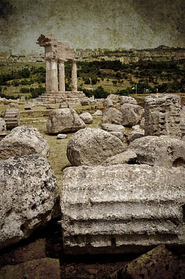 Temple Of Castor And Pollux Art Print by RicardMN Photography