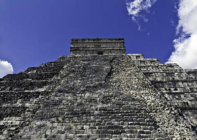 Photograph - Temple Of Kukulkan Three by Ken Frischkorn