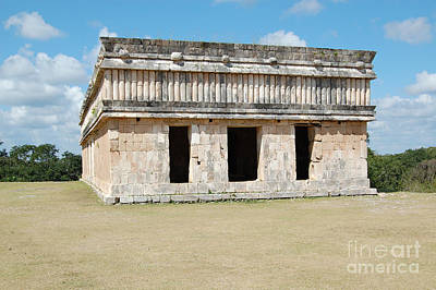 Photograph - Temple Of The Turtles At Uxmal Mexico by Shawn O'Brien