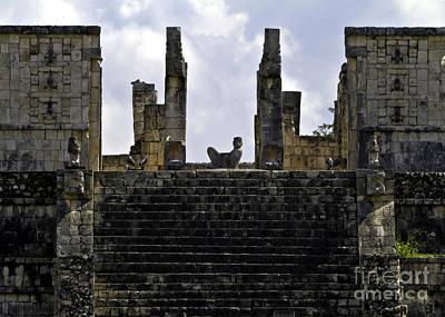 Photograph - Temple Of The Warriors by Ken Frischkorn