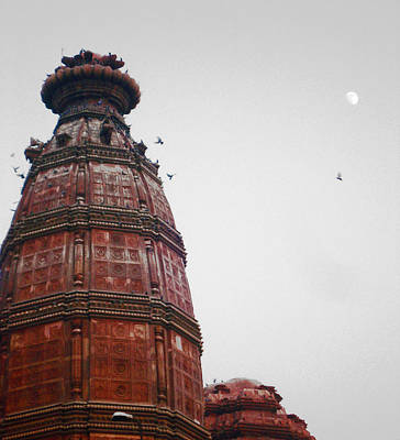 God Photograph - Temple Rishikesh India by Sumit Mehndiratta