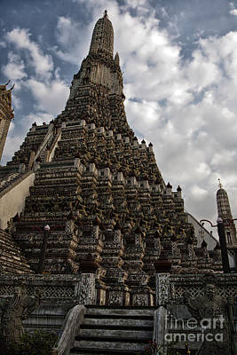Photograph - Temple Tower by Thanh Tran