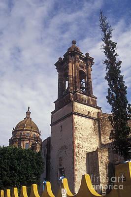 Photograph - Templo De Las Monjas San Miguel De Allende by John  Mitchell