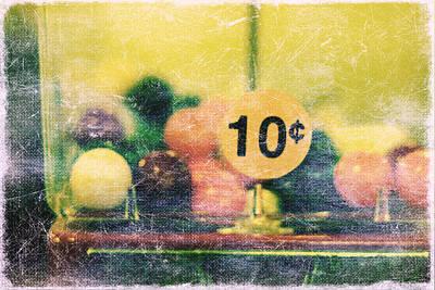 Ten Cent Candy Art Print by Toni Hopper