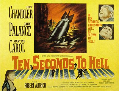 Fid Photograph - Ten Seconds To Hell, Jeff Chandler by Everett