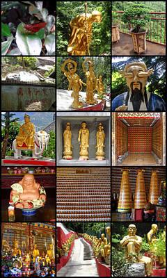 Photograph - Ten Thousand Buddhas Monastery by Roberto Alamino