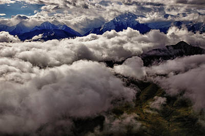 Alaska Mountains Photograph - Ten Thousand Feet Over Denali by Rick Berk