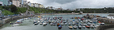 Photograph - Tenby Panorama by Steve Purnell