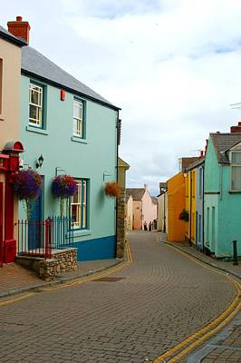 Photograph - Tenby Village by Tam Ryan