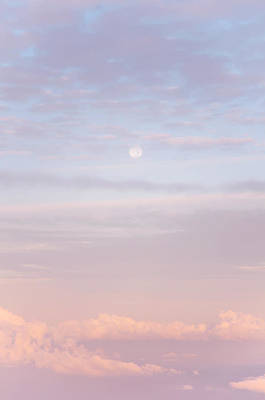 Photograph - Tender Welcoming Sky Over Spain. Full Moon by Jenny Rainbow