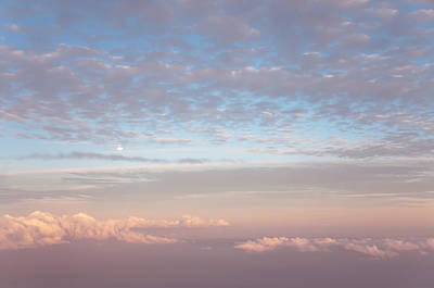 Photograph - Tender Welcoming Sky Over Spain I. Full Moon by Jenny Rainbow