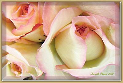 Tenderdly  Rose Art Print by Danielle  Parent