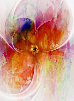 Framed Art Digital Art - Tenderly by Amanda Moore