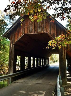 Tennesse Covered Bridge Art Print by Janice Spivey