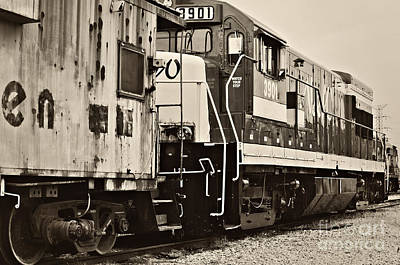 Photograph - Tennessee Central Railway Museum - 3901 by Cheryl Davis