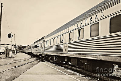 Photograph - Tennessee Central Train by Cheryl Davis
