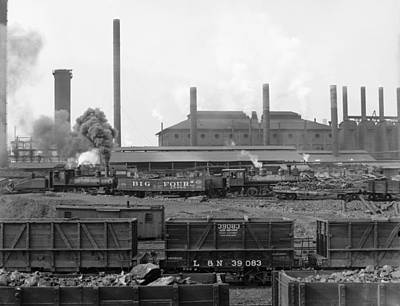 Mechanization Photograph - Tennessee Coal, Iron & Railroad by Everett