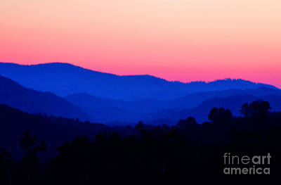 Tennessee Sunset Art Print by EGiclee Digital Prints