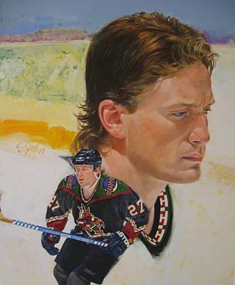 Painting - Teppo Numminen by Cliff Spohn