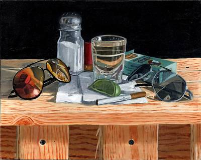 Painting - Tequila With Lime No. 2 by Thomas Weeks