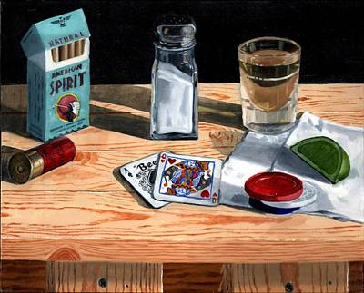 21 Painting - Tequila With Lime No. 4 by Thomas Weeks