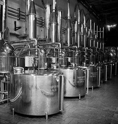 Art Print featuring the photograph Tequilera S.s. Distillation Tanks by Lynn Palmer