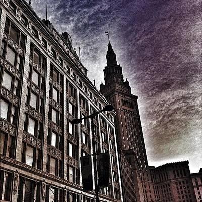 Skylines Wall Art - Photograph - Terminal Tower by Matthew Barker