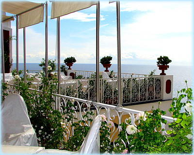 Photograph - Terrace View by Carla Parris