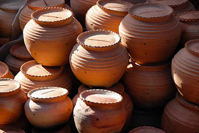 Photograph - Terracotta Pots On Sale by Fran Woods