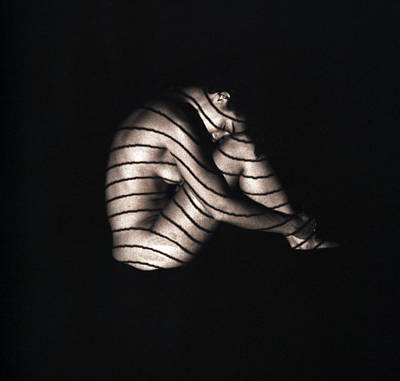 Terri Holding Still Art Print by David Wohlfeil