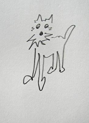 Fox Terrier Puppy Digital Art - Terrier by Charles Stuart