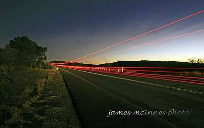 Photograph - Territory Lights by James Mcinnes