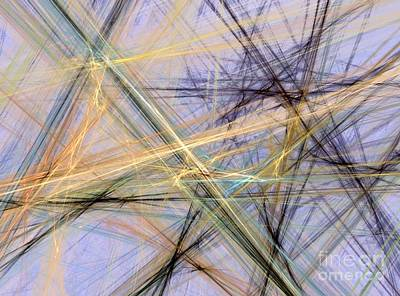Digital Art - Tethered Threads  by Vicki Lynn Sodora