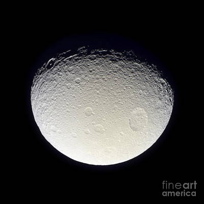 Photograph - Tethys by NASA / Science Source